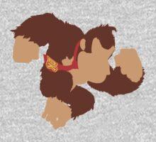 Smash Bros - Donkey Kong One Piece - Long Sleeve