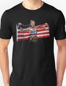Holly Holm American Flag T-Shirt