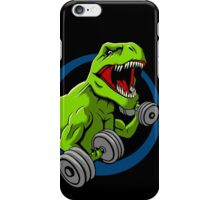 Big Guns Dinosaur iPhone Case/Skin