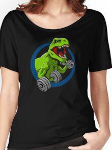 Big Guns Dinosaur Women's Relaxed Fit T-Shirt