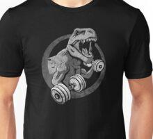 Big Guns Dinosaur - Halftone Unisex T-Shirt