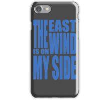 BBC Sherlock - the East Wind  iPhone Case/Skin
