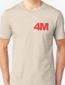 4minute red T-Shirt