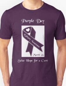 Purple Day -- Epilepsy Awareness (March 26) T-Shirt
