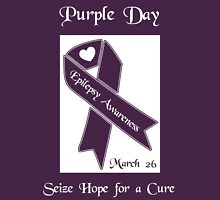 Purple Day -- Epilepsy Awareness (March 26) Unisex T-Shirt