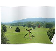 Storm King Art Sculptures Poster