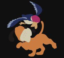 Smash Bros - Duck Hunt One Piece - Long Sleeve