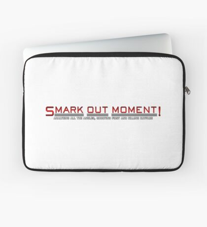 Smark Out Moment Logo (Red) Laptop Sleeve