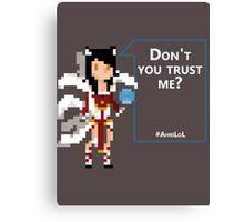 Pixel Ahri Canvas Print