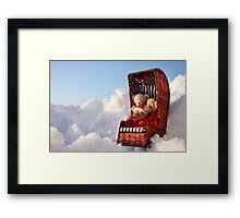Blue Country Adventures for Little Rascals Framed Print