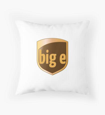 Big E's Package (UPS) Throw Pillow