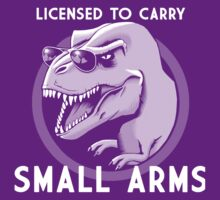 Licensed to Carry Small Arms - Halftone by GrizzlyGaz