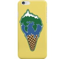 Melting earth iPhone Case/Skin