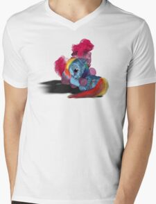 MLP 3D - In My Time of Need Mens V-Neck T-Shirt