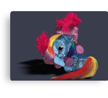 MLP 3D - In My Time of Need Canvas Print