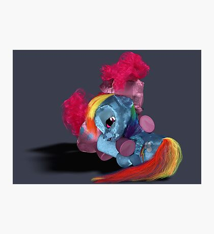 MLP 3D - In My Time of Need Photographic Print