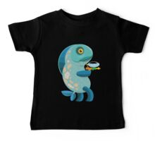 Fish Thing with a Squirt Gun Baby Tee