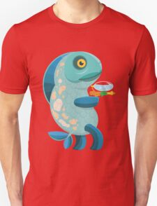 Fish Thing with a Squirt Gun T-Shirt