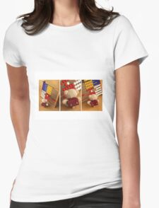 Math Adventures For Little Bears | Das kleine Mathegenie Womens Fitted T-Shirt