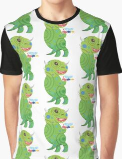 Lizard Thing with a Squirt Gun Graphic T-Shirt