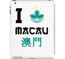 I love Macau iPad Case/Skin