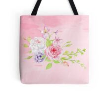 Silky Pinky Rose Tote Bag