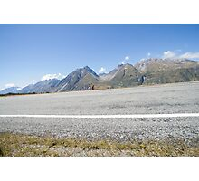 Road through magnificent South Island landscape, New Zealand. Photographic Print