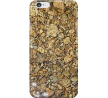 Pebbles Under the Lake iPhone Case/Skin