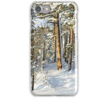 There Will Be Snow II iPhone Case/Skin