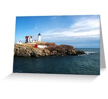 At the Nubble Greeting Card
