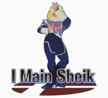 I Main Sheik - Super Smash Bros Melee by PrincessCatanna