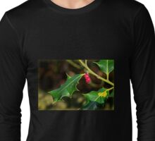Holly - Ilex Aquifolium Long Sleeve T-Shirt