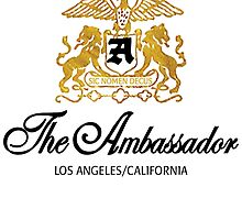 The Ambassador Hotel Logo #1 by Suzanne  Gee