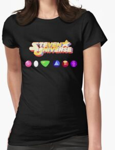 Steven Universe & The Crystal Gems Womens Fitted T-Shirt
