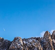 wind on the summit of the mountain by zakaz86