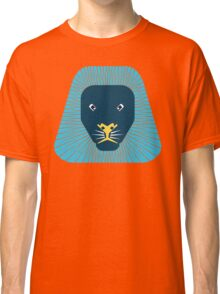 abstract lion face Classic T-Shirt