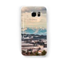 italian fields with snow Samsung Galaxy Case/Skin