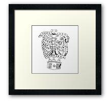 steampunk ribs Framed Print