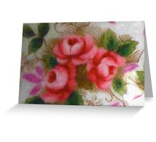 Blurred Flowers Greeting Card