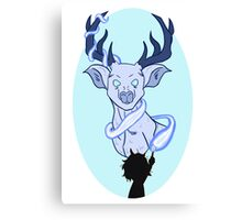 Prongs rides again. Canvas Print