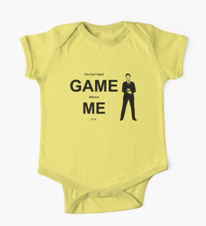 You Can't Spell Game Without Me In It - Barney One Piece - Short Sleeve