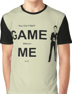 You Can't Spell Game Without Me In It - Barney Graphic T-Shirt