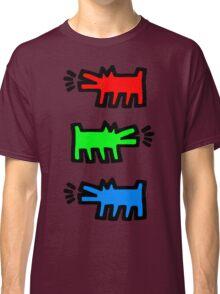 "HARING - RGB "" Red Green Blue"" Classic T-Shirt"