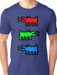 "HARING - RGB "" Red Green Blue"" Unisex T-Shirt"