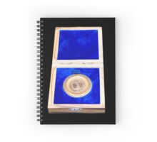 Bar-Kochba coin of Jerusalem 133CE replica medallion  Spiral Notebook
