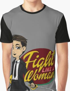 Fight Like a Woman (Saga: The Brand) Graphic T-Shirt