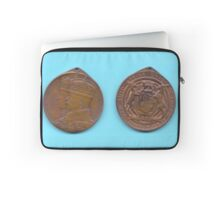 1935 King George V Jubilee medal issued in the Union of South Africa  Laptop Sleeve