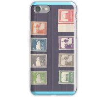 Palestine British mandate stamp collection used between 1927 to 1948 iPhone Case/Skin