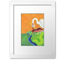 Morning Meal Framed Print