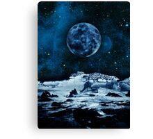 Blue Traveler Canvas Print